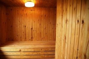 sauna w